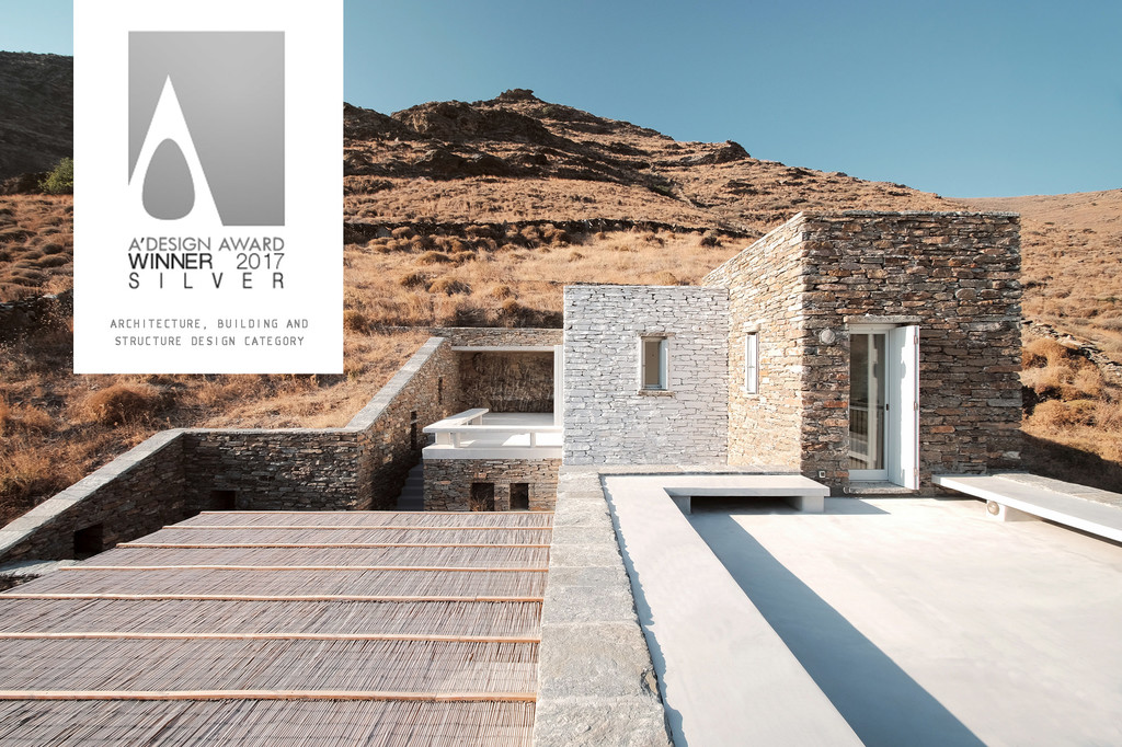 Silver A Award Winner. Rocksplit House - Cometa Architects